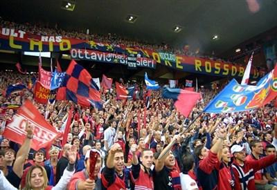 """La gradinata Nord, """"casa"""" dei tifosi del Genoa (Infophoto)"""