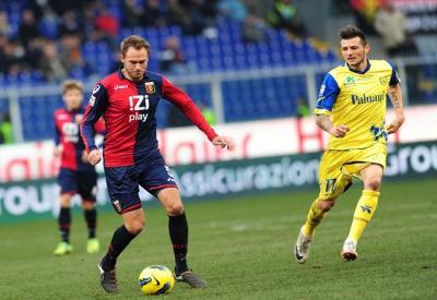 Andreas Granqvist, 27 anni, difensore centrale del Genoa (Infophoto)