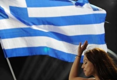 Bandiera greca (Infophoto)