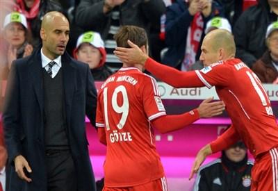 Pep Guardiola, allenatore Bayern Monaco (Infophoto)