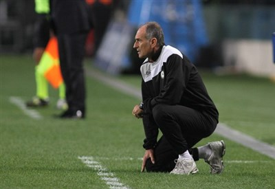 Francesco Guidolin tocca le 200 panchine con l'Udinese (Infophoto)