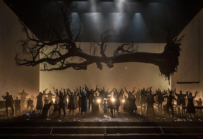 La rappresentazione a Londra del Guillame Tell (foto di Clive Barda)