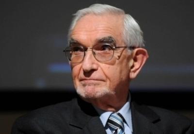 Il presidente dell'Acri, Giuseppe Guzzetti (Infophoto)