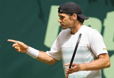 Tommy Haas, 35 anni ad aprile: è stato numero 2 del ranking ATP (Infophoto)