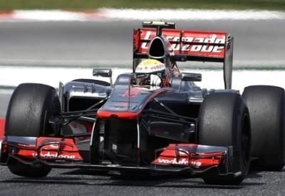 Lewis Hamilton ha ottenuto il miglior tempo (Infophoto)