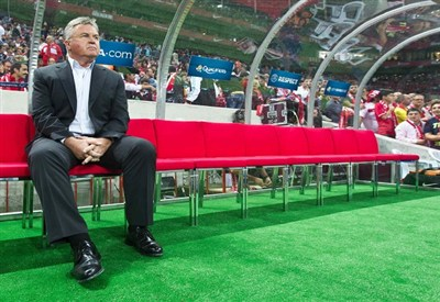 Guus Hiddink, allenatore dell'Anzhi (Infophoto)