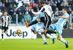 VIDEO/ Juventus-Lazio (2-0): highlights e gol della partita. Higuain: nuovo modulo faticoso, ma tre punti importanti (Serie A 2016-2017, 21^ giornata)