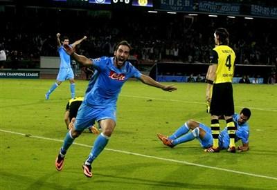 Gonzalo Higuain, attaccante Napoli (Foto Infophoto)