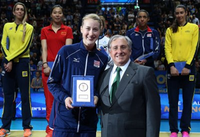 Kimberly Hill è l'MVP dei Mondiali volley donne 2014