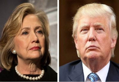 Hillary Clinton e Donald Trump (Infophoto)