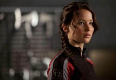 Una scena del film Hunger games