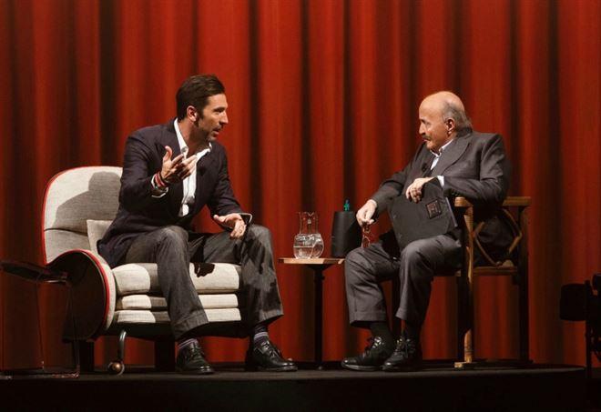 Gianluigi Buffon e Maurizio Costanzo