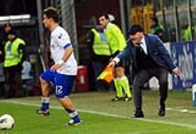 Beppe Iachini, allenatore del Siena (Foto Infophoto)