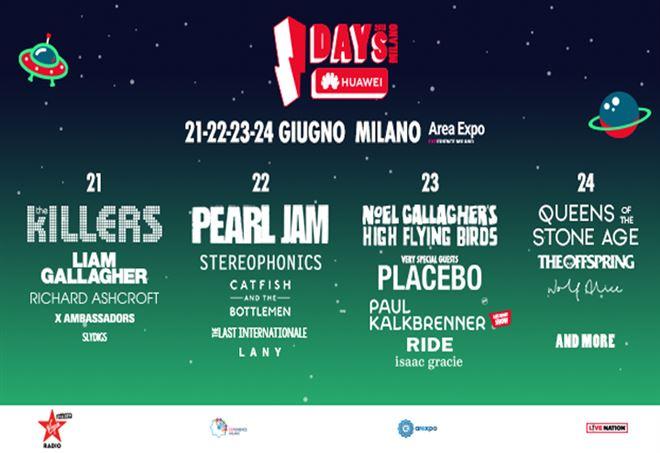 I-Days Festival, tutti gli artisti presenti
