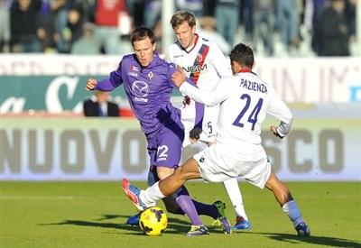 Josip Ilicic, attaccante Fiorentina (Infophoto)