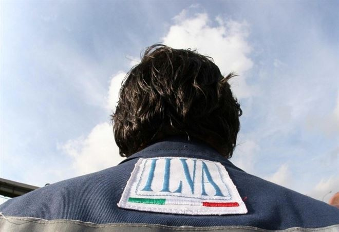 Sciopero di 4 ore all'Ilva di Taranto (foto LaPresse)