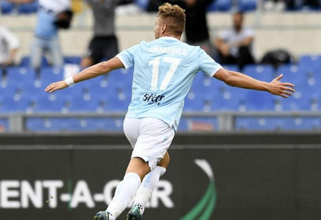 Classifica marcatori Serie A - LaPresse: Ciro Immobile