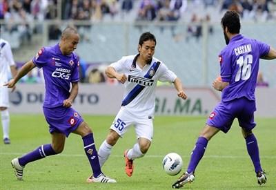 Oggi la sesta giornata di serie A: il posticipo è Inter-Fiorentina (Infoophoto)