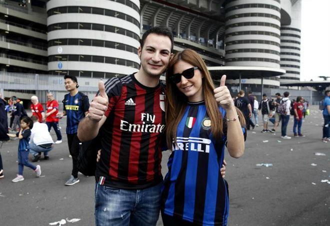 Inter Milan va in scena per l'ottava giornata della Serie A (Foto LaPresse)