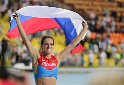 Elena Isinbayeva, 33 anni, campionessa russa di salto con l'asta (Infophoto)