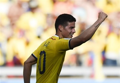 James Rodriguez   (INFOPHOTO)