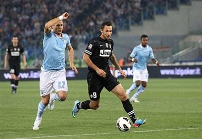 Un precedente fra Juventus e Lazio (Infophoto)