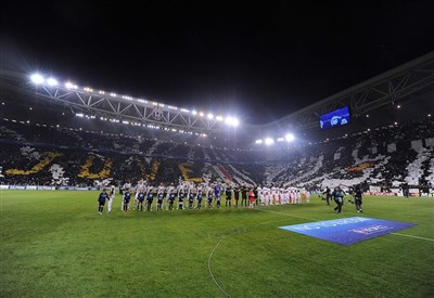 Juventus e Real Madrid in campo ieri sera (Infophoto)