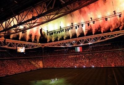 Lo Juventus Stadium si vestirà ancora a festa? (Infophoto)