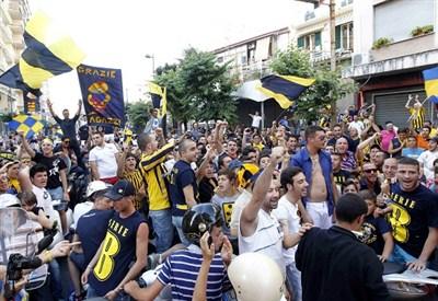 Tifosi della Juve Stabia (Infophoto)