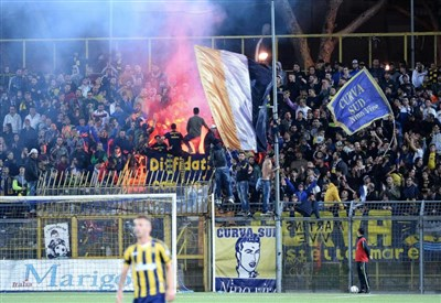 Juve Stabia-Akragas 1-0. Una zampata di Kanoute regala tre punti alle vespe