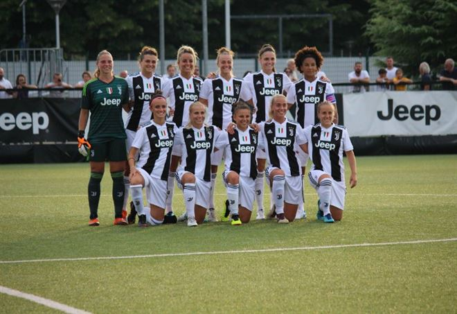 Diretta Juventus Brondby, Women Champions League (da Twitter @JuventusFCWomen)