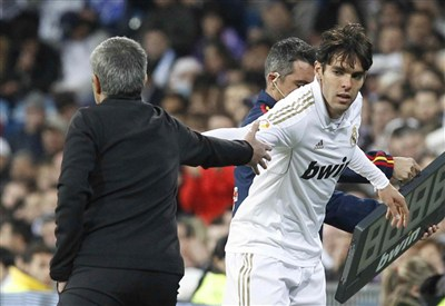 Ricardo Kakà, attaccante Real Madrid (Foto Infophoto)