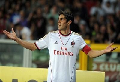 Ricardo Kakà, attaccante del Milan (Foto Infophoto)