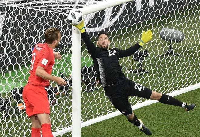 Video Tunisia Inghilterra, Mondiali 2018 gruppo G (Foto LaPresse)
