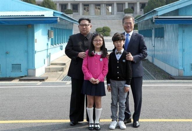 Kim e Moon, avvio al terzo incontro - LaPresse