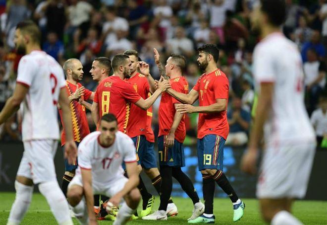 Pagelle Iran Spagna (LaPresse)
