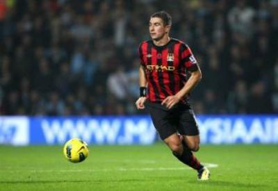 Aleksandar Kolarov, esterno Manchester City (Foto Infophoto)