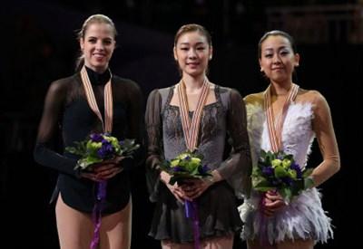 Carolina Kostner (27 anni), Yuna Kim (23), Mao Asada (23)