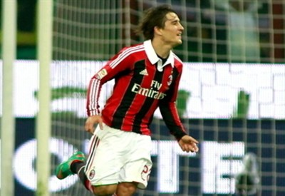 Bojan Krkic, attaccante Milan (Infophoto)