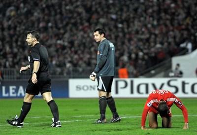 Bjorn Kuipers, 41 anni, arbitro di Manchester City-Roma (Infophoto)