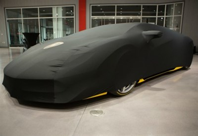La Lamborghini Centenario prima di essere svelata al pubblico