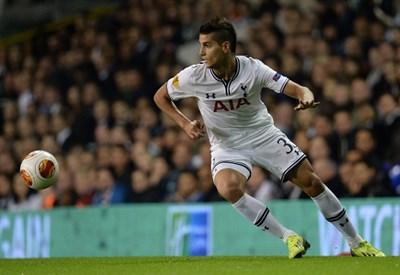Erik Lamela, esterno Tottenham (Foto Infophoto)