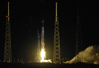 Il lancio di una sonda spaziale Nasa (Foto: LaPresse)