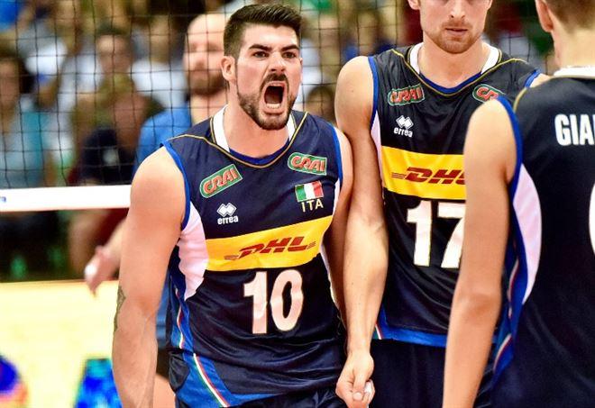 Diretta Italia Repubblica Dominicana, Mondiali volley 2018 (Foto LaPresse)