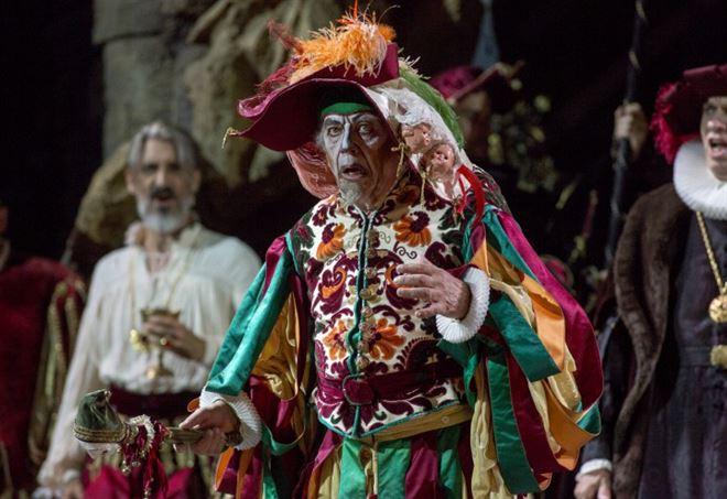Leo Nucci nel Rigoletto