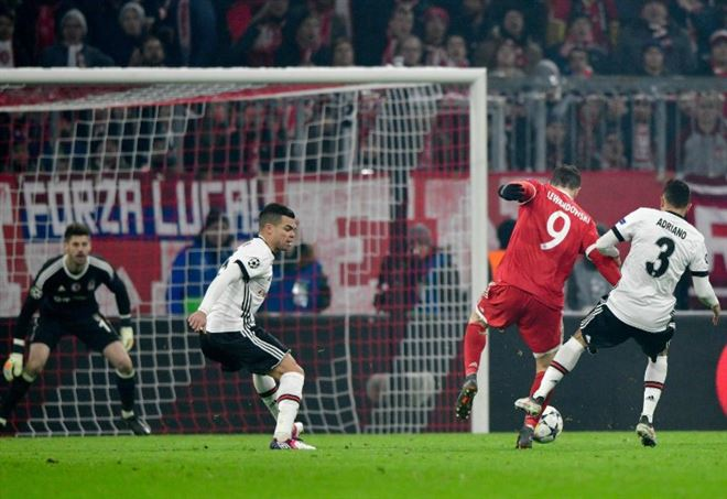 Probabili formazioni Besiktsas Bayern Monaco, Champions League (Foto LaPresse)