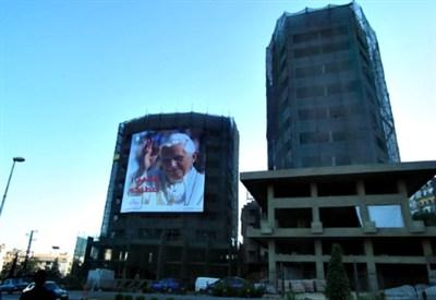 Beirut si prepara ad accogliere il Papa