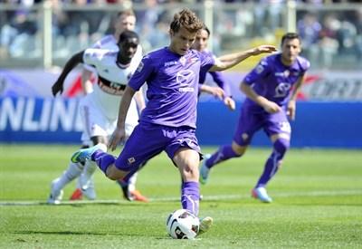 Adem Ljajic, esterno della Fiorentina (Foto Infophoto)