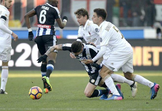 Probabili formazioni Milan Udinese, Serie A (Foto LaPresse)