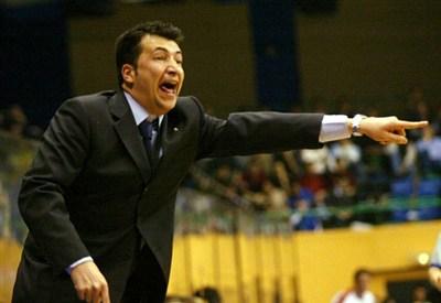 Luca Banchi, allenatore dell'Olimpia Milano (Infophoto)